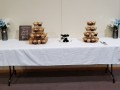 Wedding-cake-Cupcakes-table