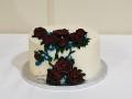 Wedding-cake-on-table-close-up