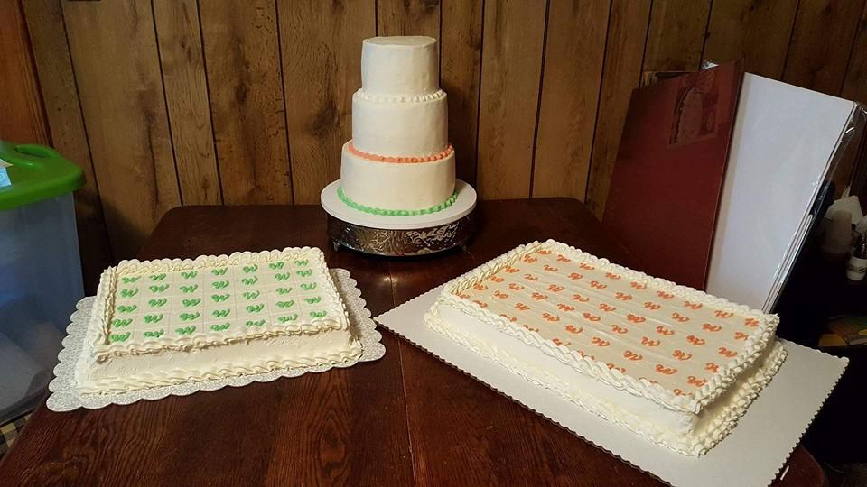 All three cakes