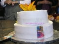 Kayla wedding cake inside